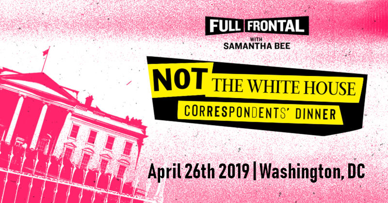 Not The White House Correspondents' Dinner