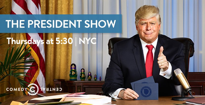 The President Show | Comedy Central